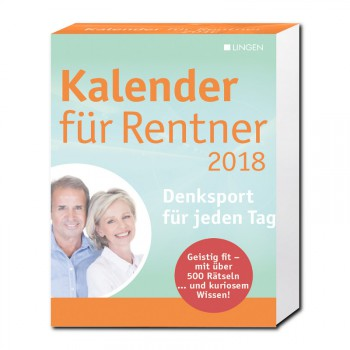 Kalender für Rentner 2018