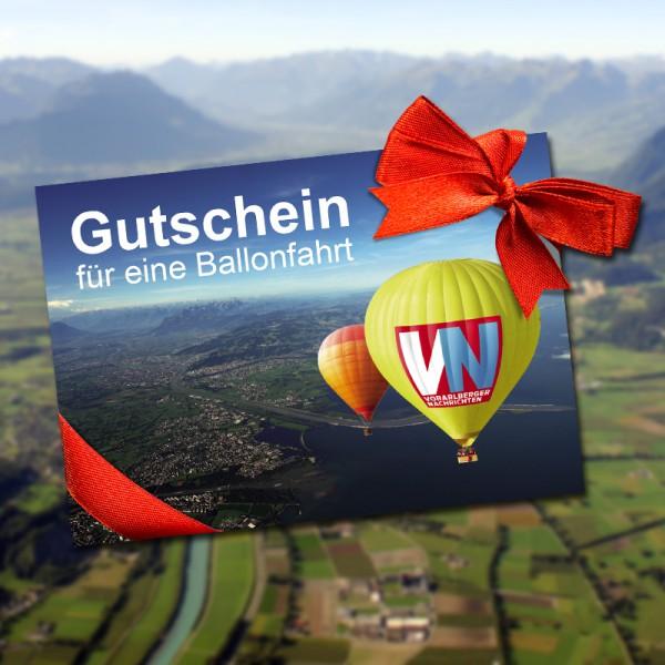 VN Ballonfahrt im Schweizer Rheintal