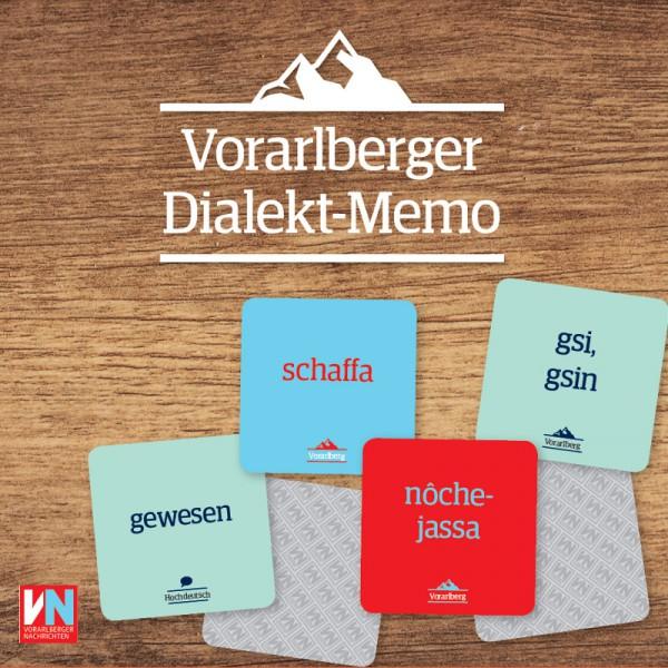 Das Vorarlberger Dialekt-Memo