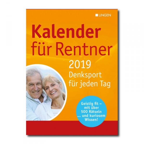 AKTION: Kalender für Rentner 2019
