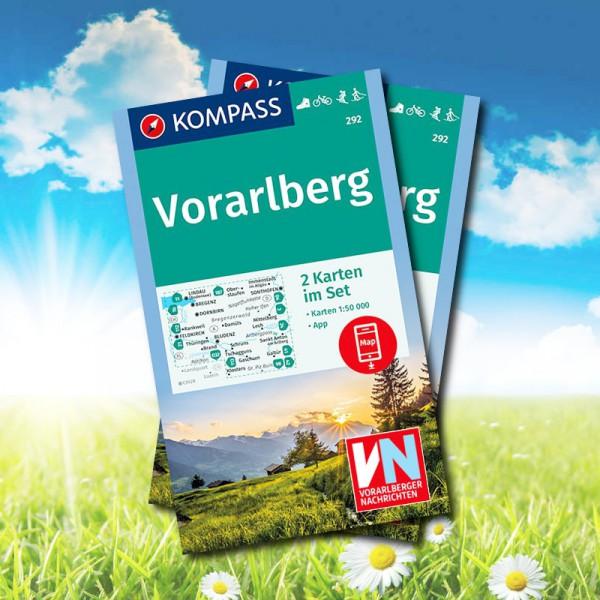 Die Vorarlberg Wanderkarten