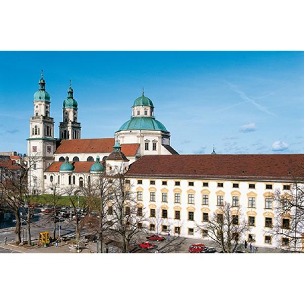 Residenz Kempten & St.-Lorenz Basilika sowie Erasmuskapelle & St.-Mang-Kirche