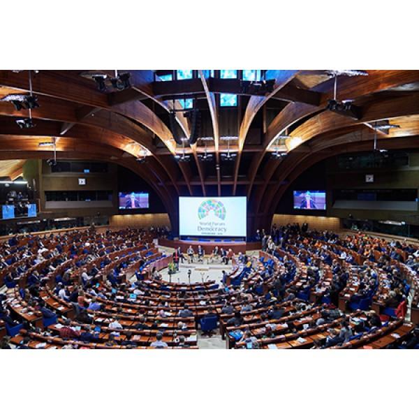 Gerichtshof für Menschenrechte & Europarat Straßburg