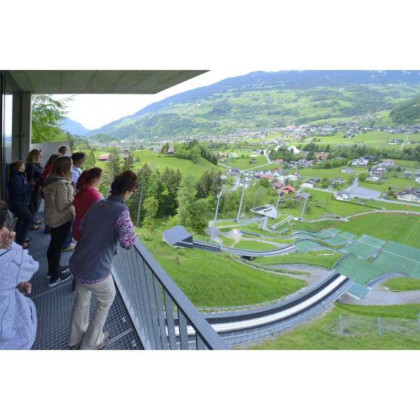 Besuch vkw Lünerseewerk & Schanzenanlage Tschagguns