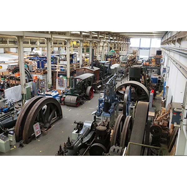 Besuch im Sulzer-Areal & Dampfzentrum in Winterthur