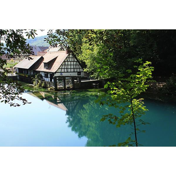 Blaubeuren Klosteranlage, Blautopf und Blautopfbähnle