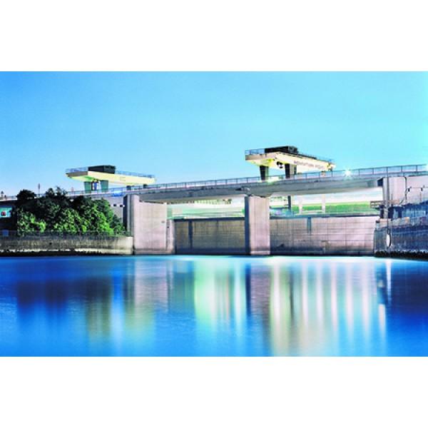 Rheinkraftwerk Iffezheim & Unimog Museum