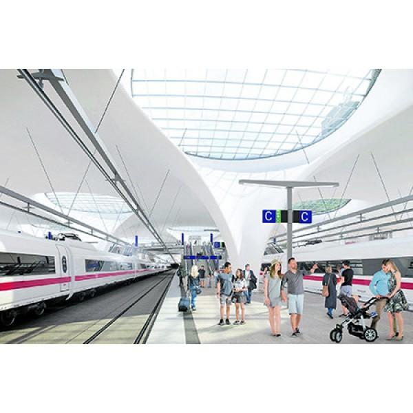 Bahnprojekt Stuttgart 21 und Mercedes-Benz-Museum