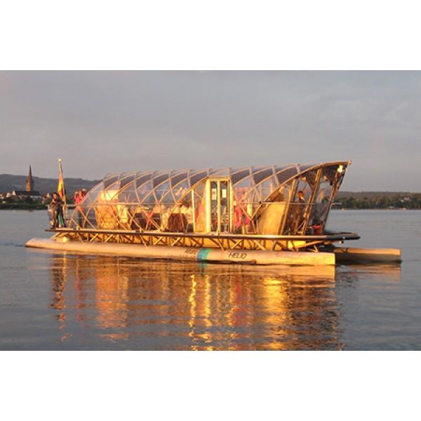 Radolfzell & flüsterleise Bootstour mit der Solarfähre HELIO